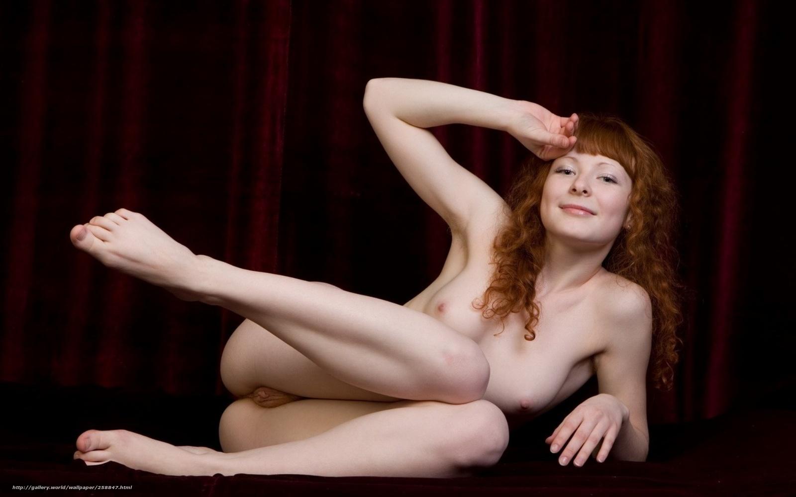 Рыжая девушка обои эротика 8 фотография