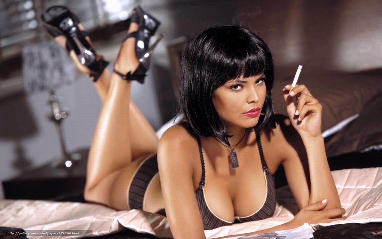 Фото сексуальные девушки с сигаретой 13 фотография