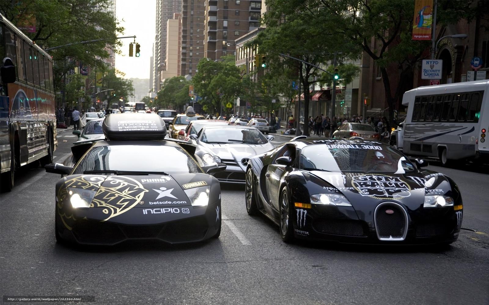 Lamborghini город автомобили машины авто