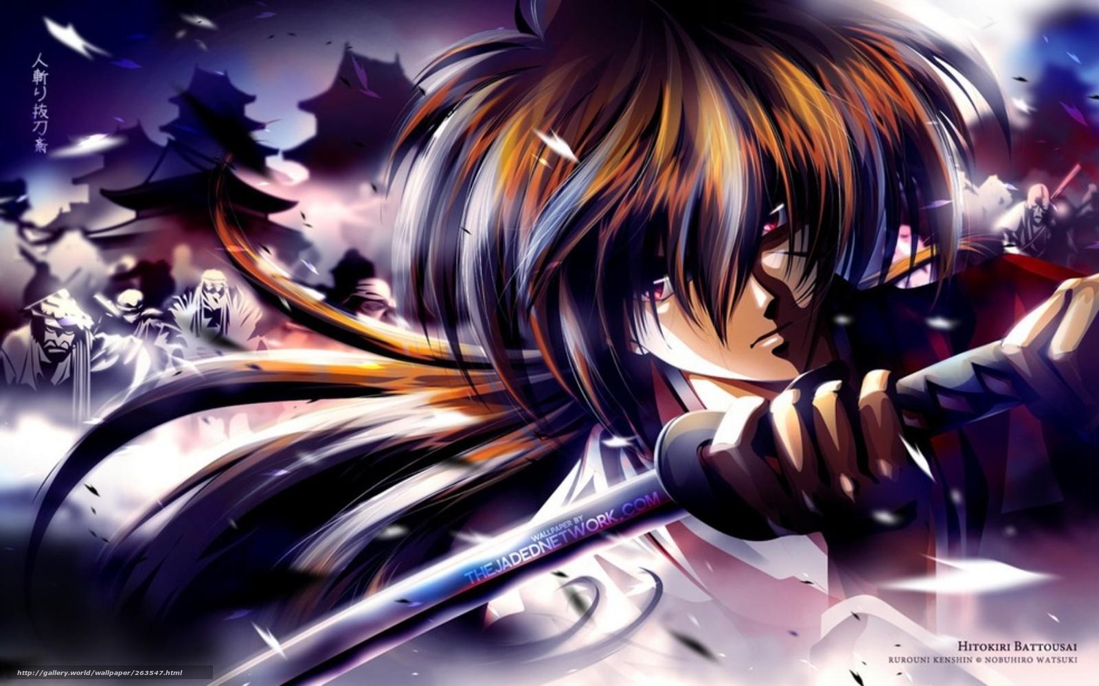 Самурай икс аниме игры 11 фотография