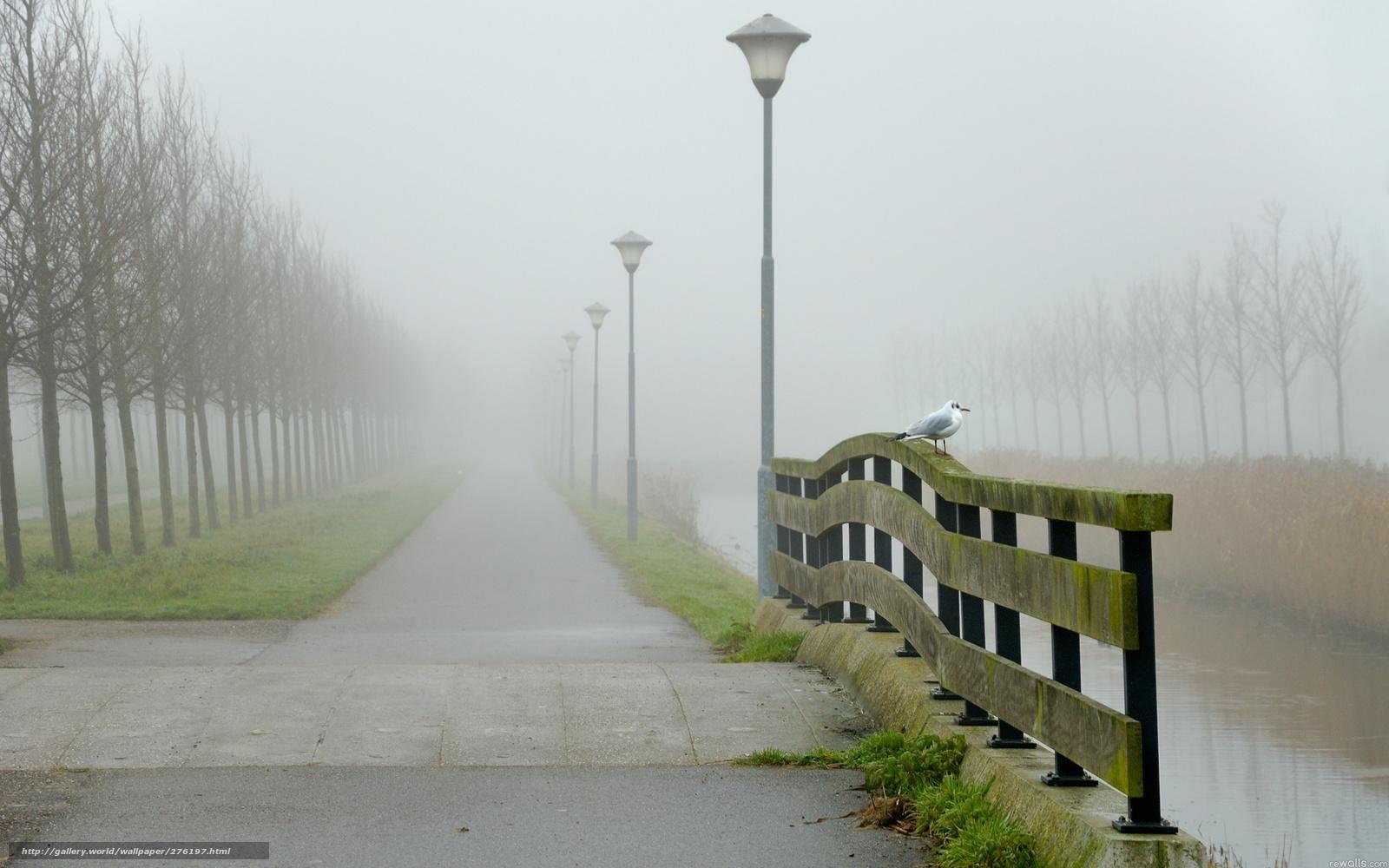 туман город обои для рабочего стола № 648863 бесплатно