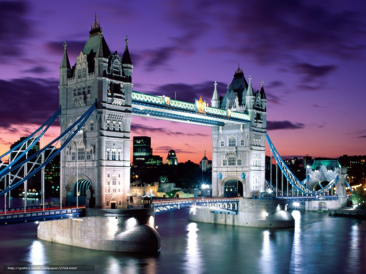 Лондон англия мост