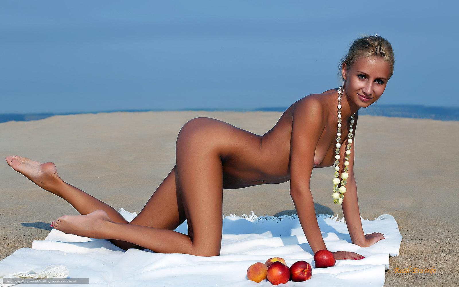 Фото девушек голышок на пляжу 21 фотография