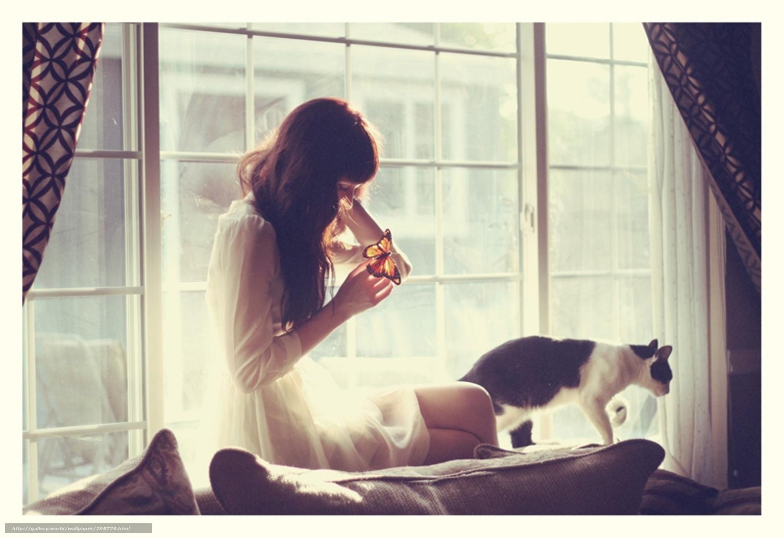Девушка окно фото 24 фотография