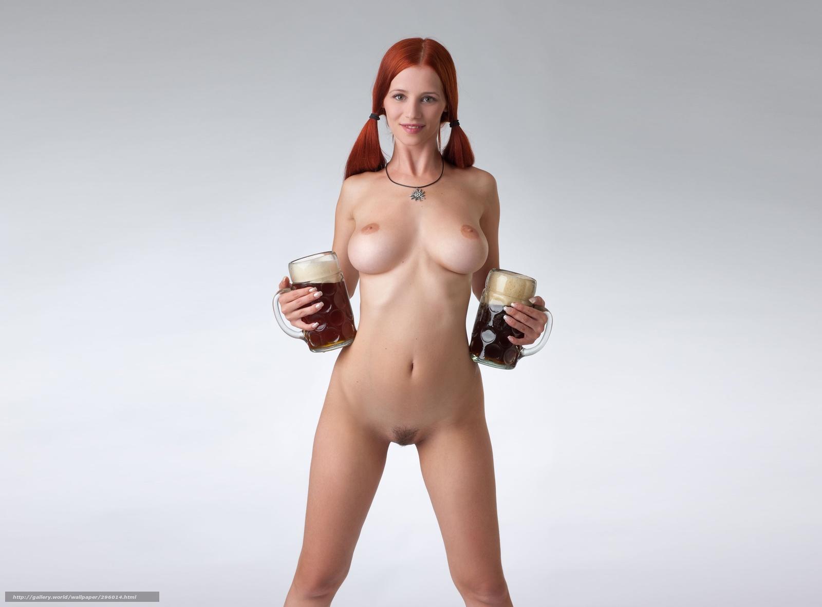 Эротика с пивом 2 фотография
