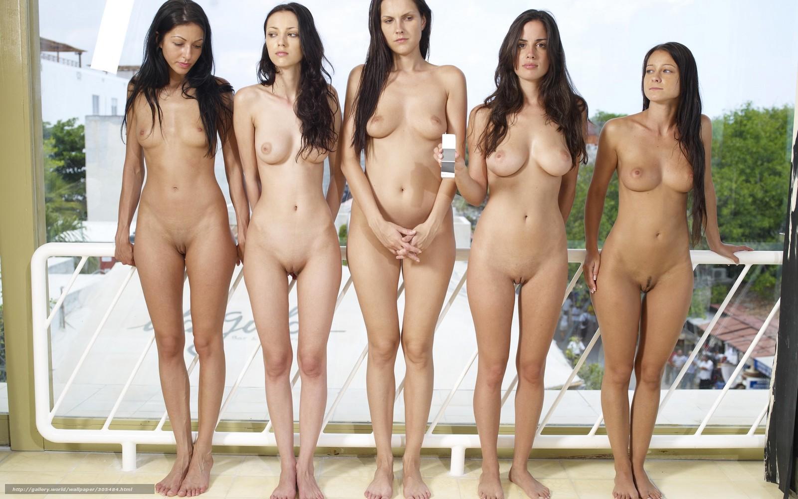 Симпотичные дивчонки голые 6 фотография