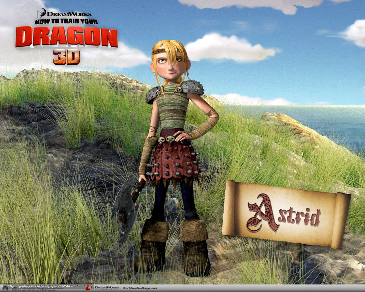 Free how to train your dragon astrid  naked thumbs