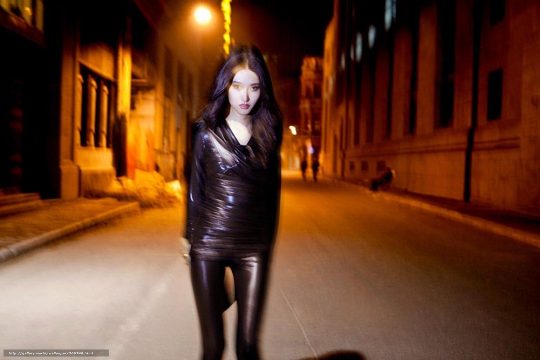 Фото девушек в темноте на улице без лица