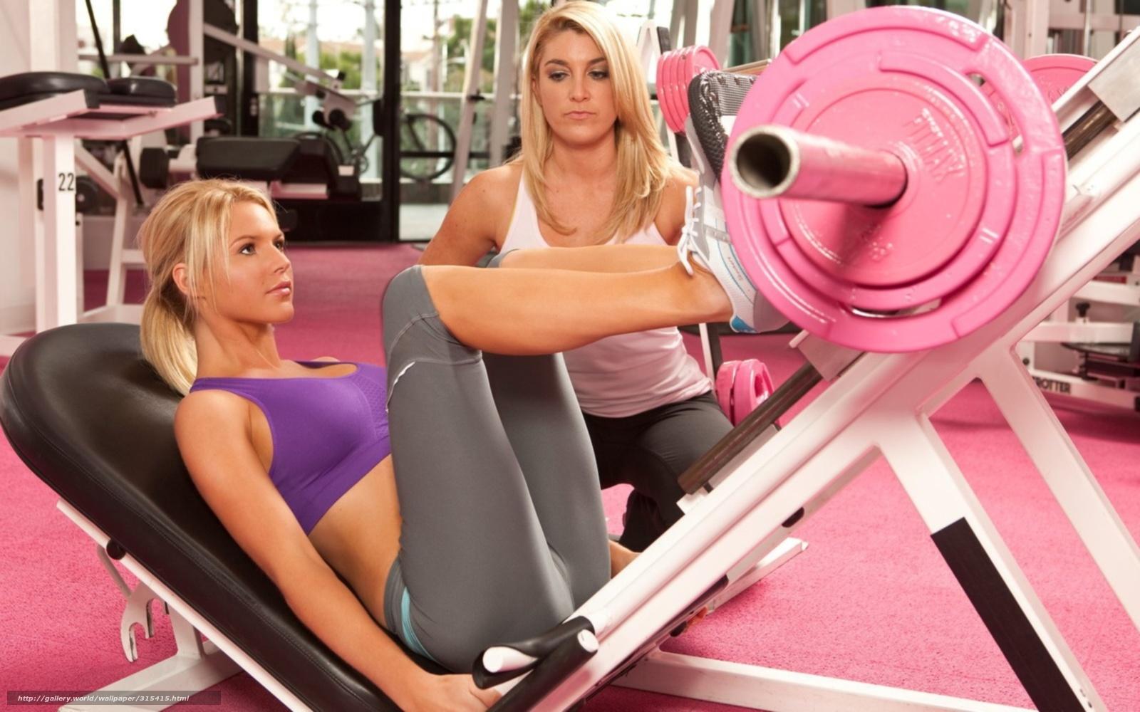 Фото девушек фитнес моделей в зале 15 фотография
