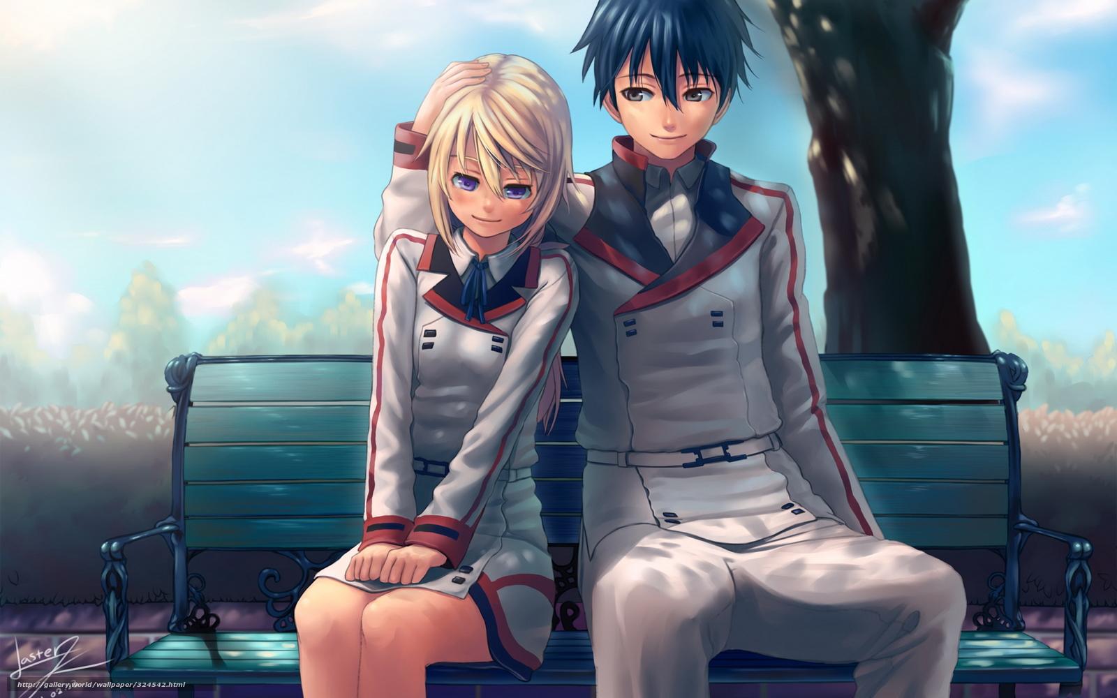 Фото аниме девушек и парней на аву