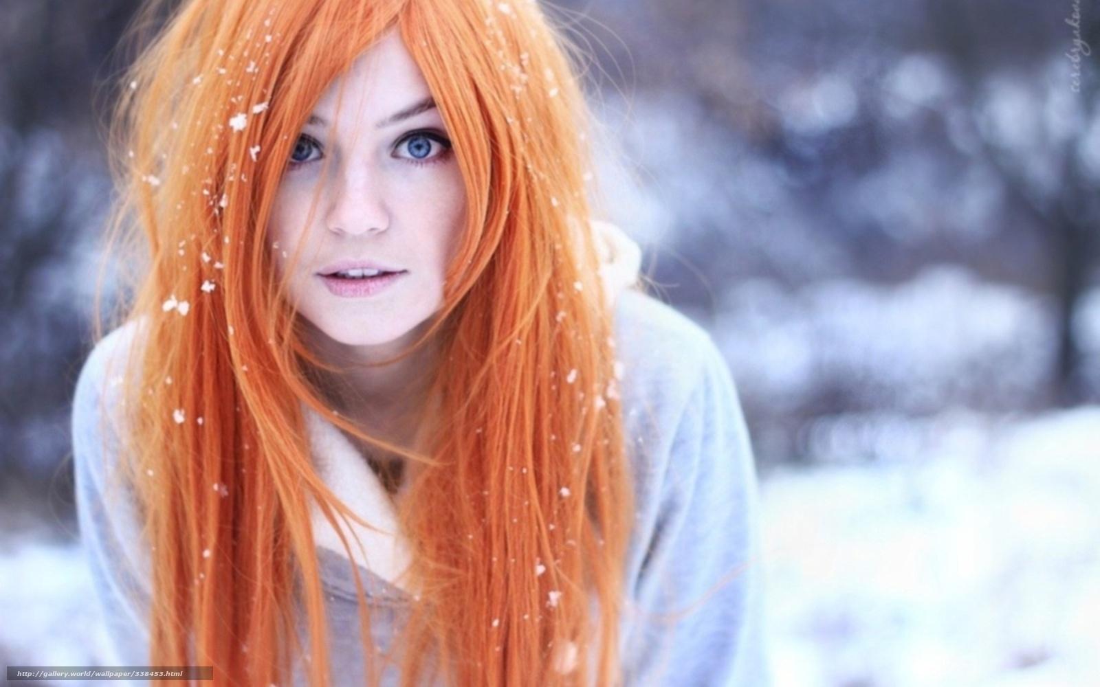 Рыжие худые девушки 25 фотография