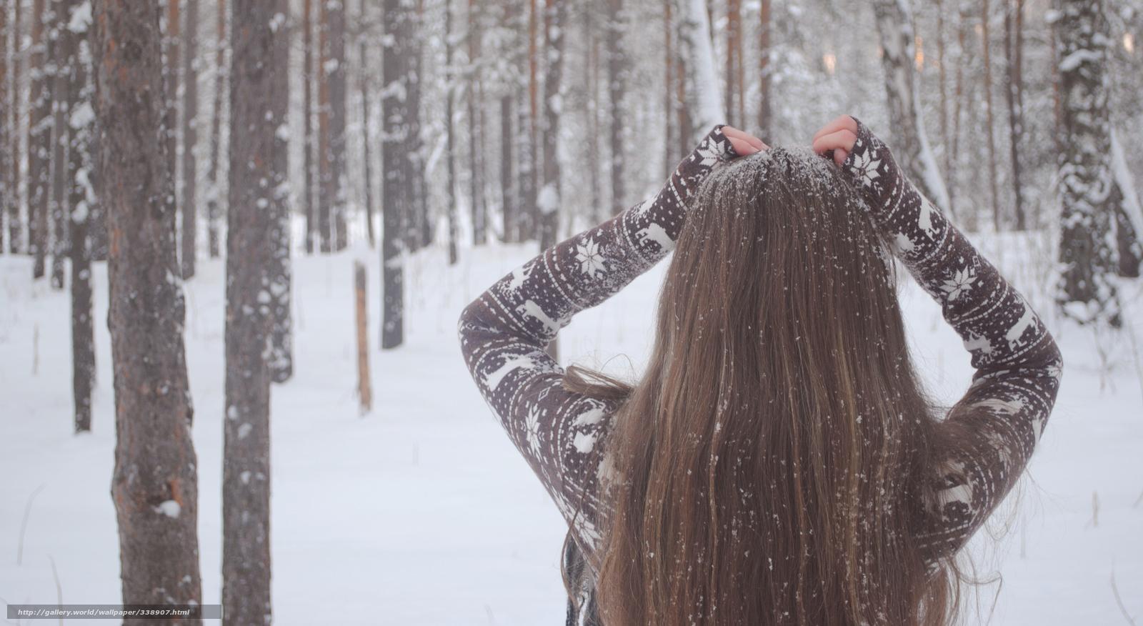 Фото девушек в снегу 2 фотография