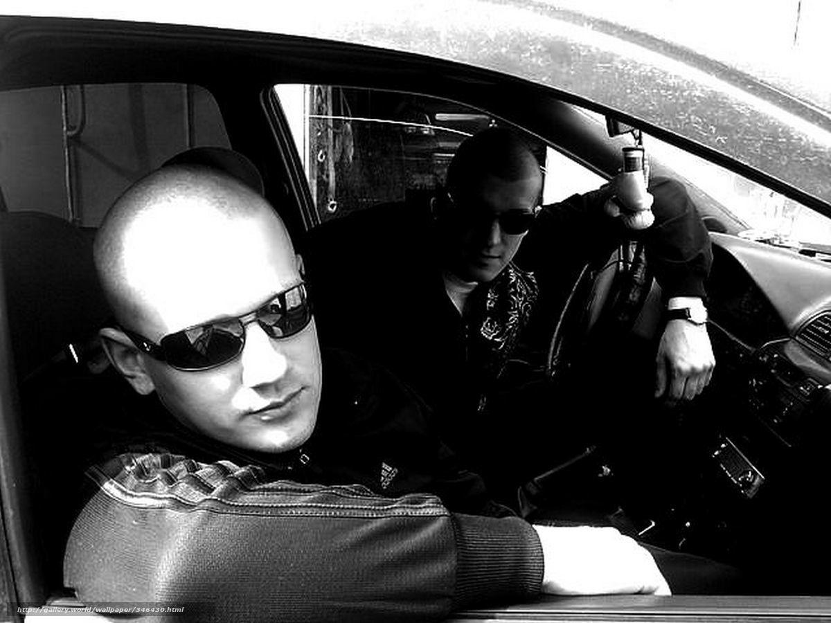 Фото парней на машине