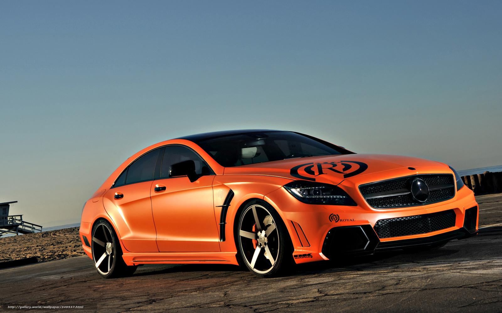 Mercedes-Benz, CLS, Royal, мерседес, оранжевый ...: koto-fot.ru/gdefon/kotofots/full/349537-kotofotsfull