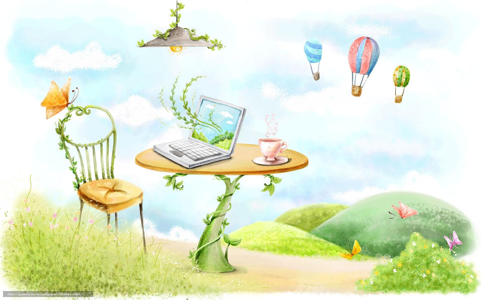 рисунок стола: