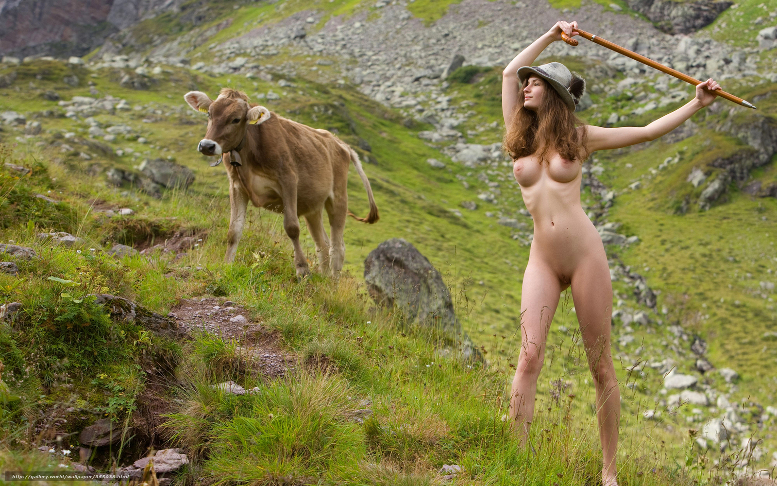 Эротические девушки пастушки 3 фотография
