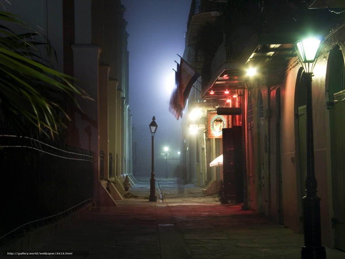 Ночь улица фонарь