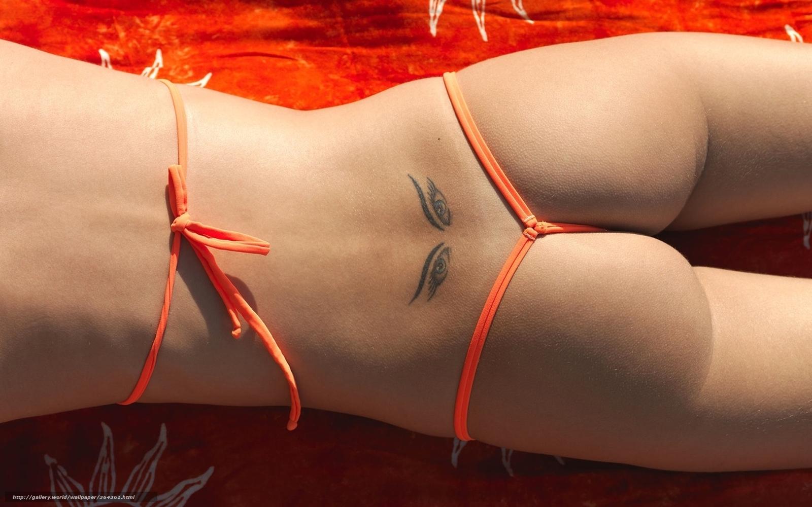 Фото девушек с татуировкой на попке 21 фотография