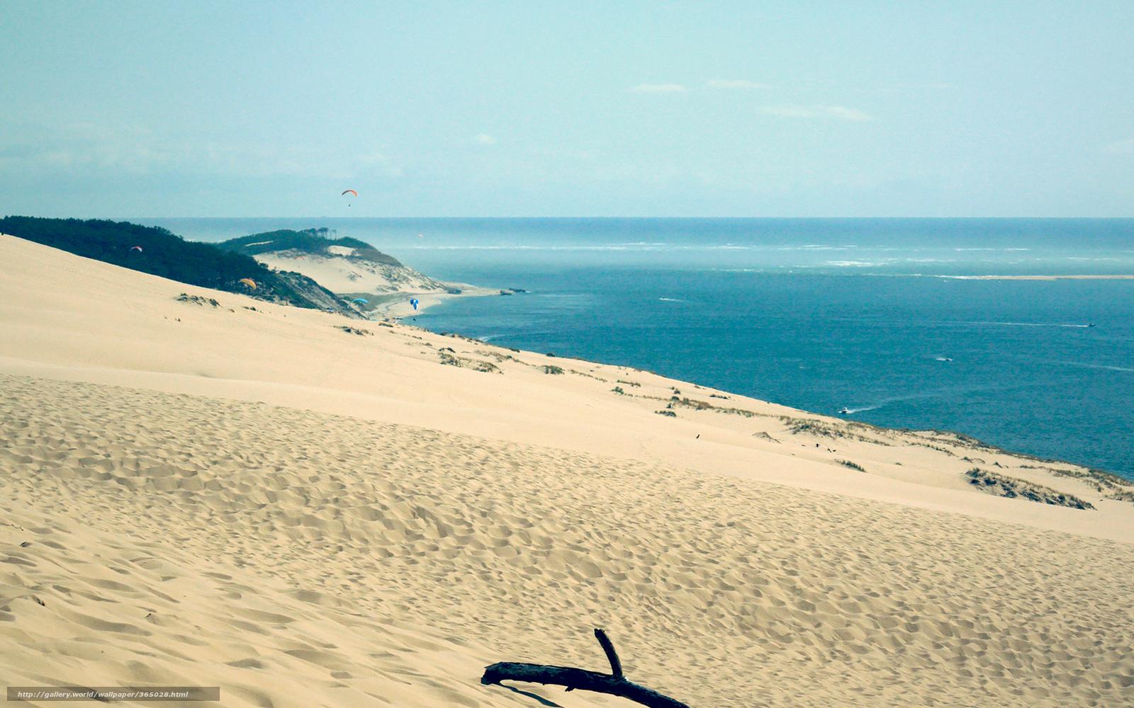 Пейзаж пейзажи пляж песок море