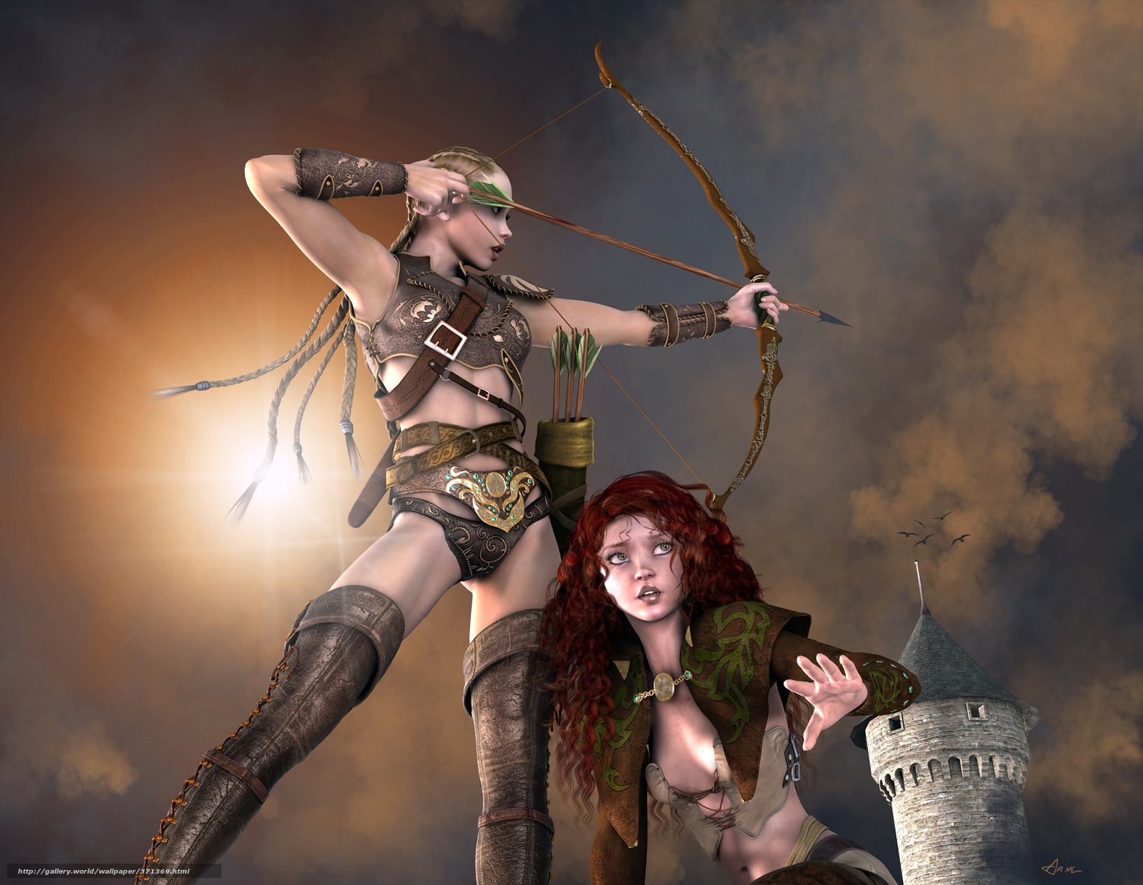 3d warrior chicks xxx images
