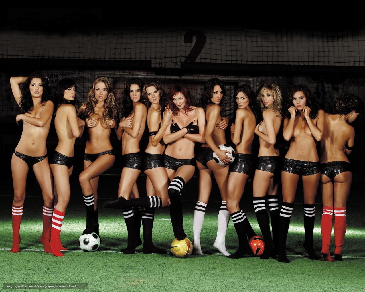 Сексуальные девушки с мячом 14 фотография