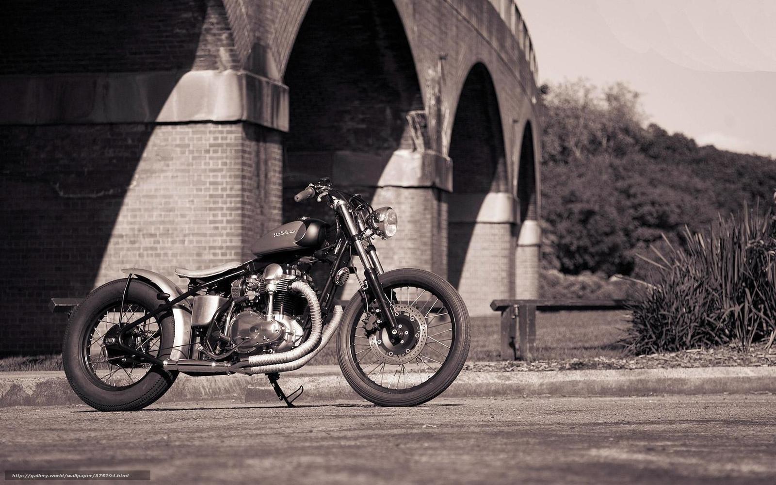 Мотоцикл боббер стиль мост мотоциклы