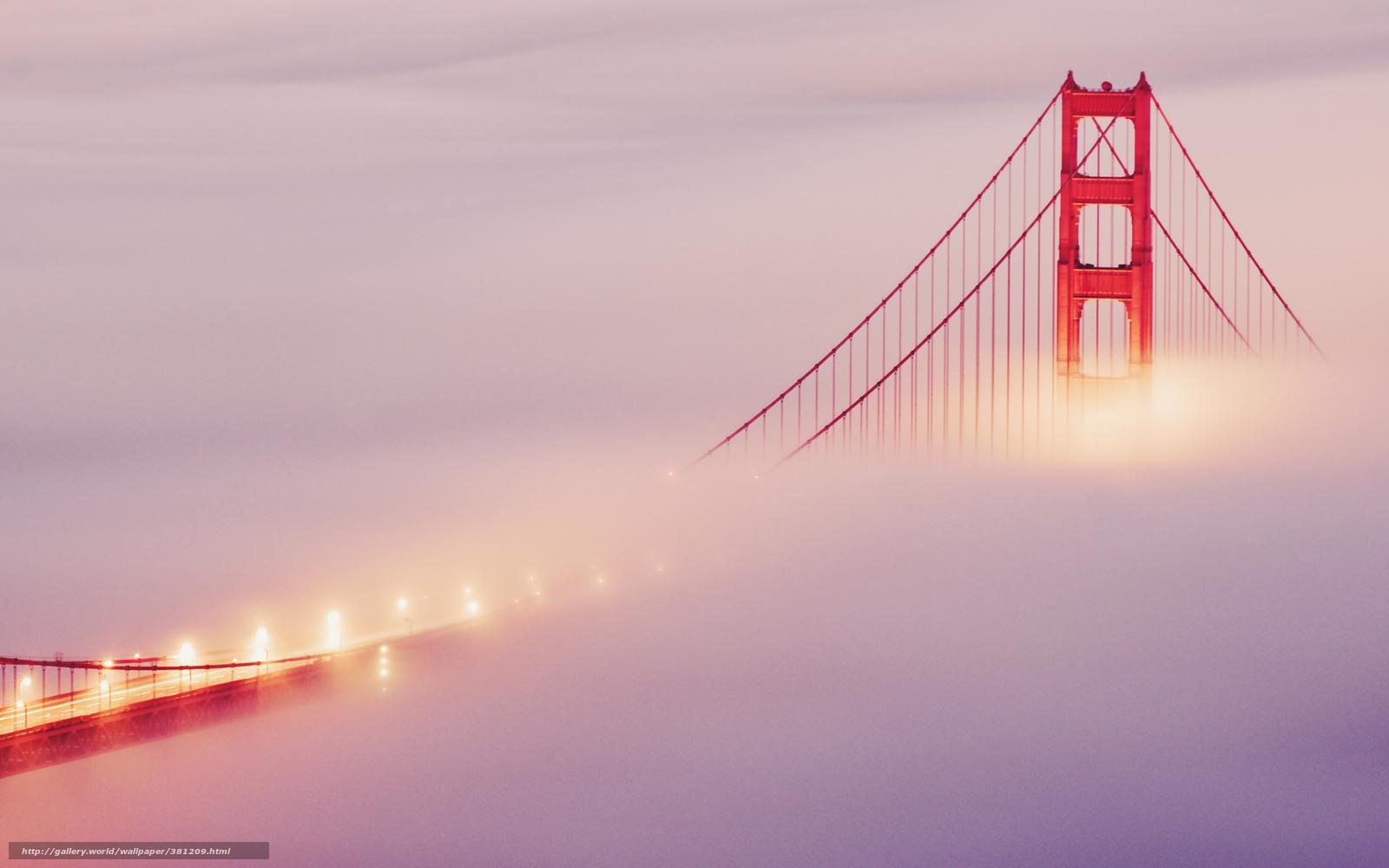 туман город обои для рабочего стола № 648833 загрузить