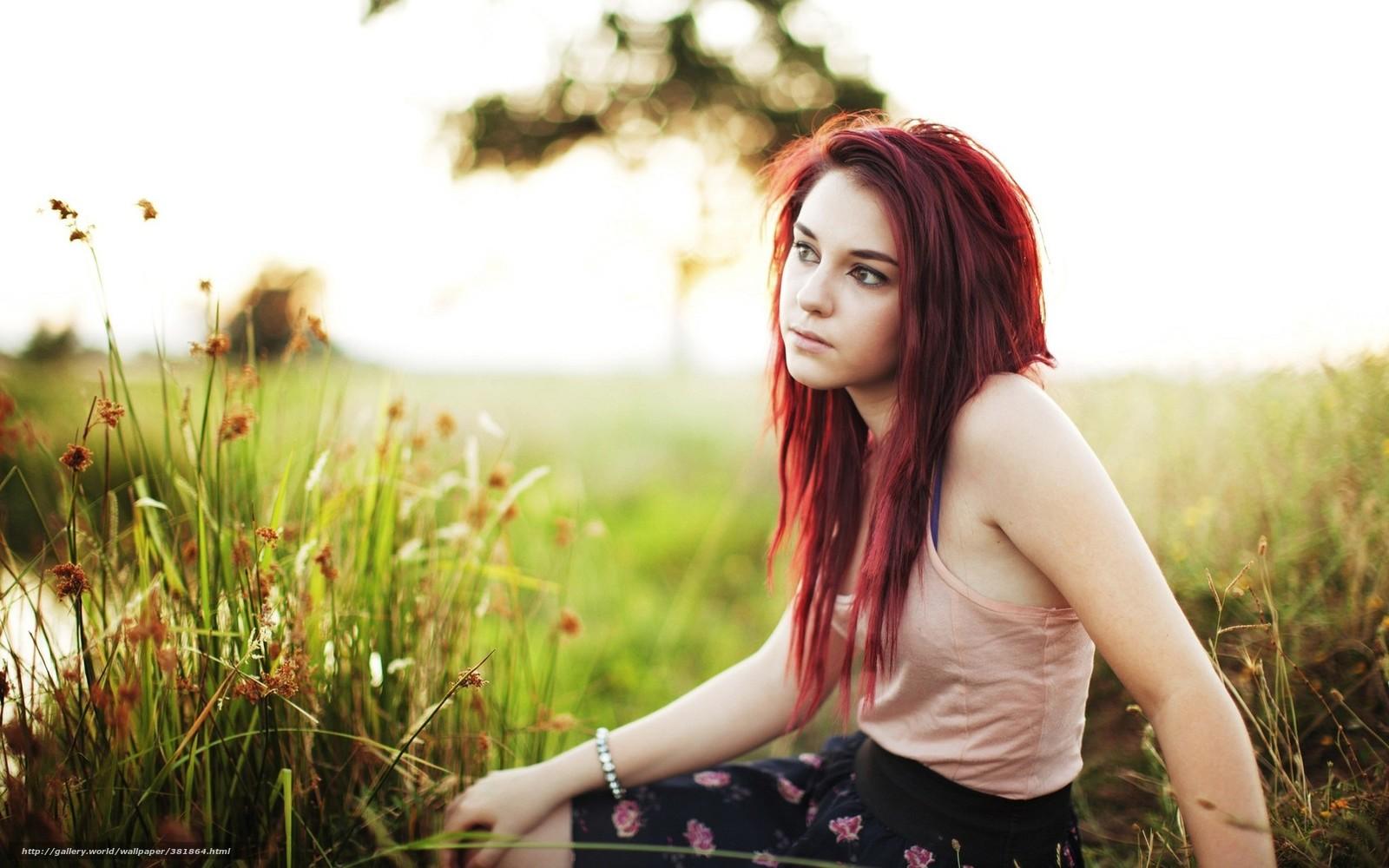 Рыжая девочка дрочит 6 фотография