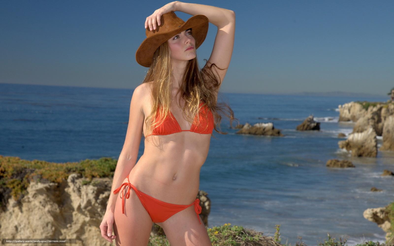 Природа море женщины в шляпах голые фото фото 675-521