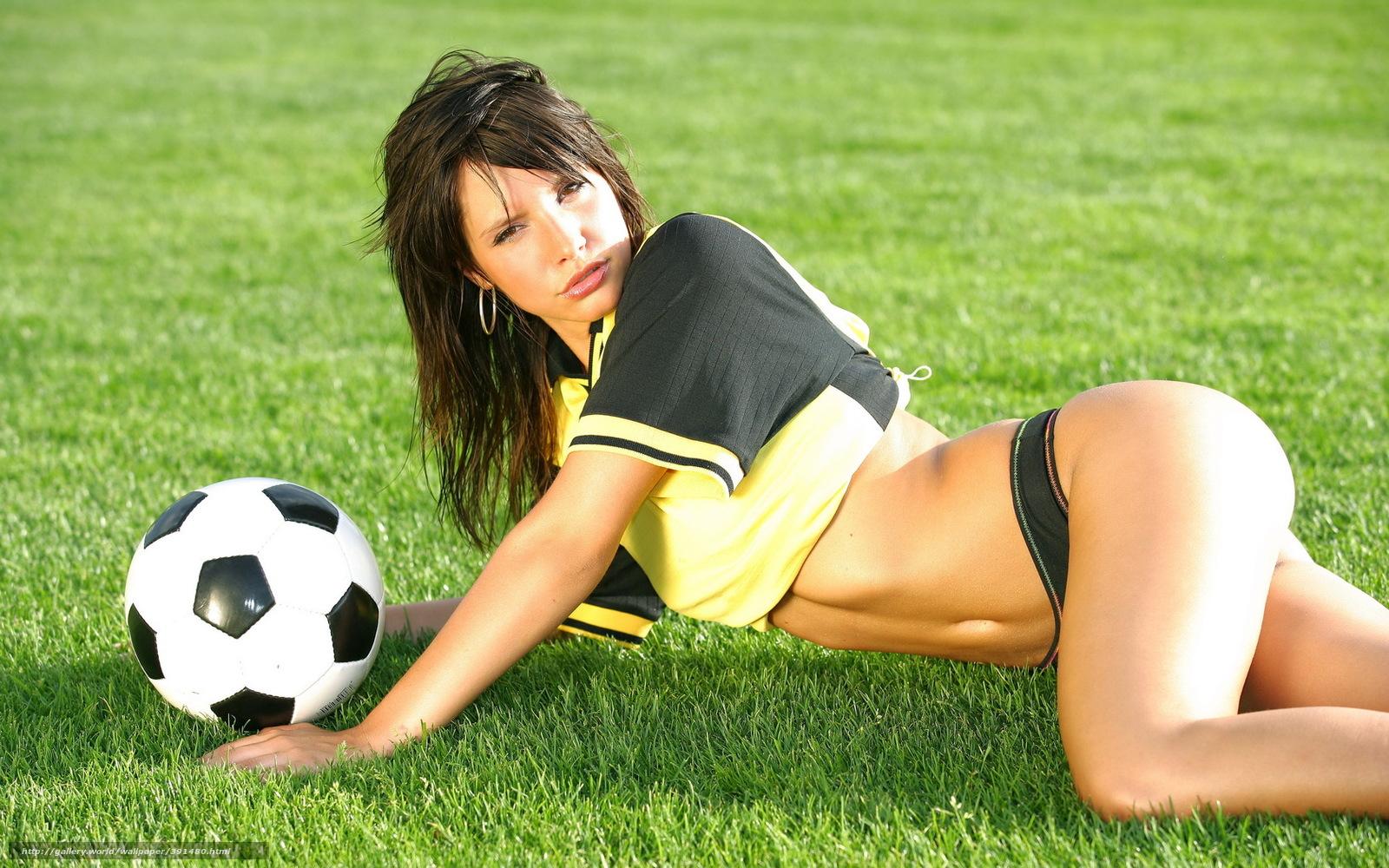 Сексуальные девушки с мячом 21 фотография