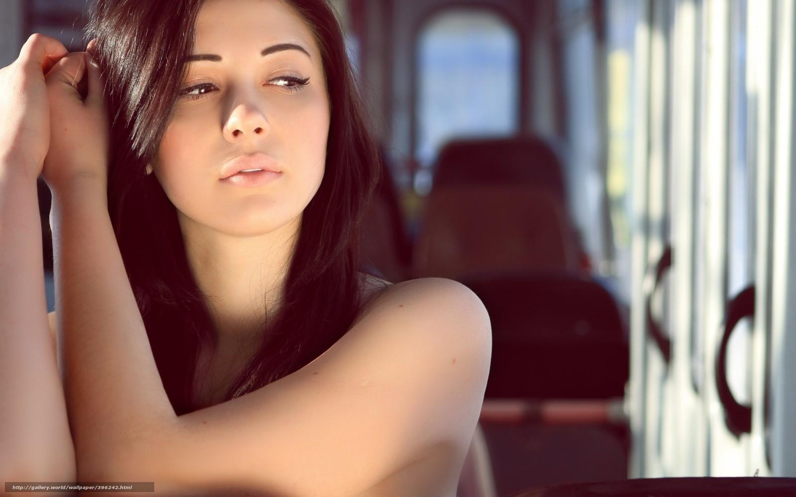 Смотреть модель брюнетка лицо 4 фотография