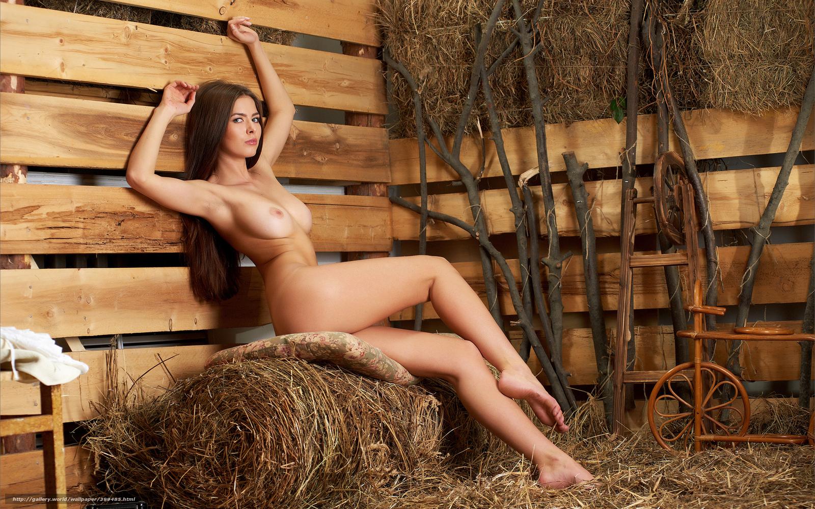 Секс с деревенской девчонкой в сарае 23 фотография