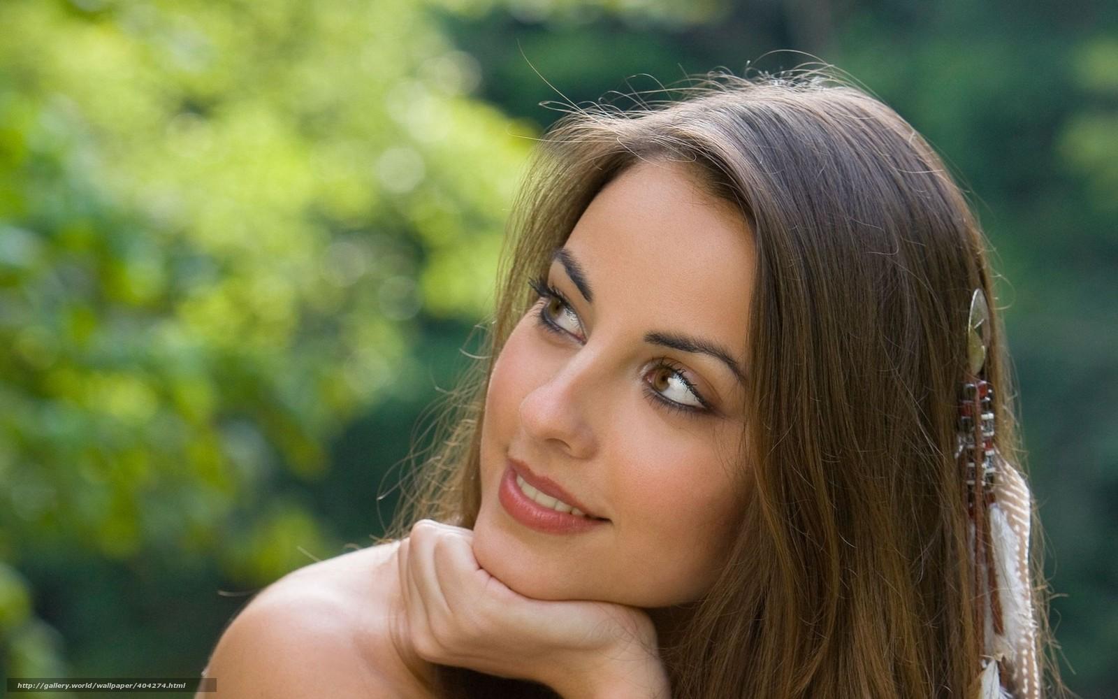 Смотреть модель брюнетка лицо 21 фотография