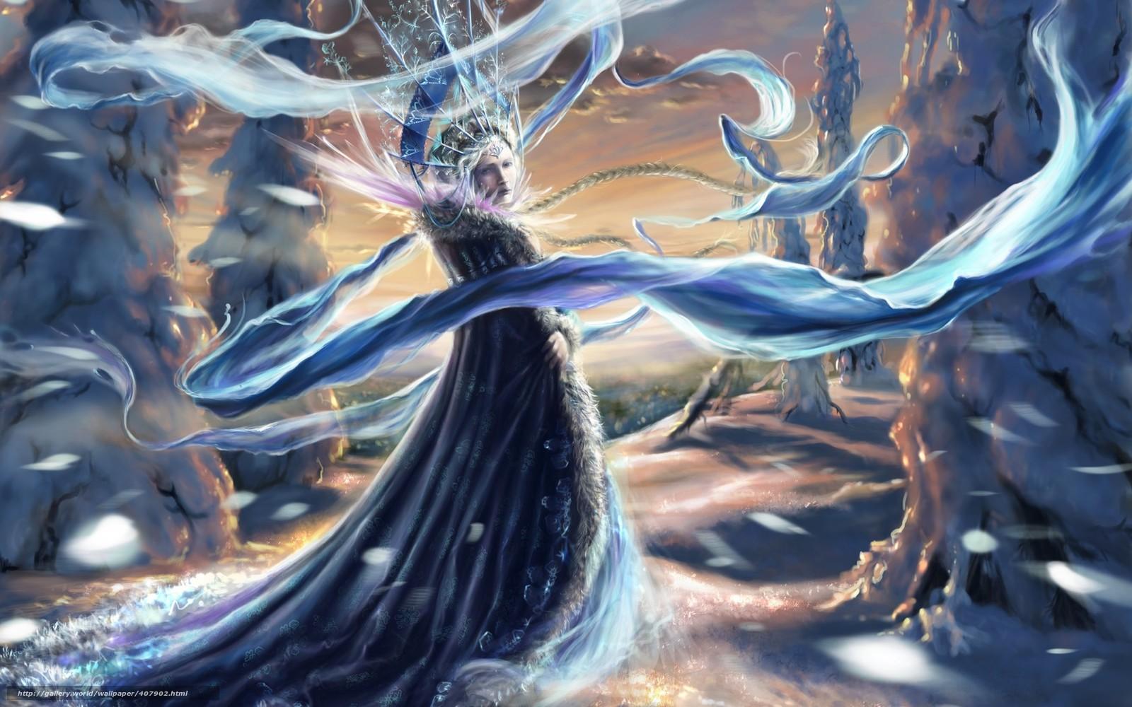 Зима снег корона новый год деревья