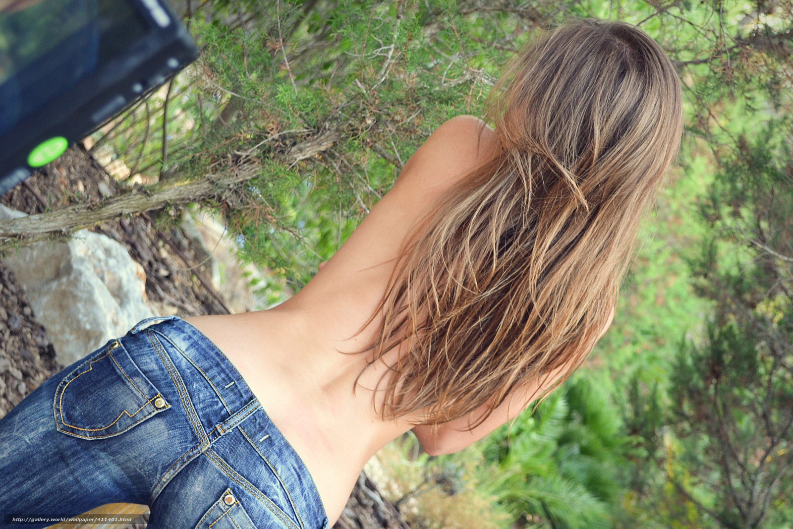 Фото спина русой девушки 8 фотография
