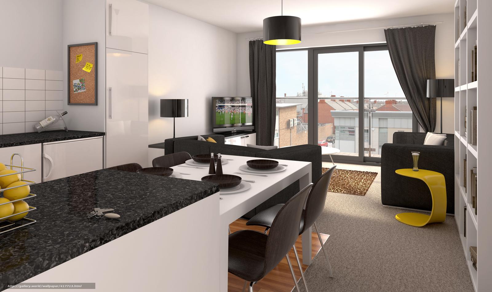 Дизайн жилой комнаты фото