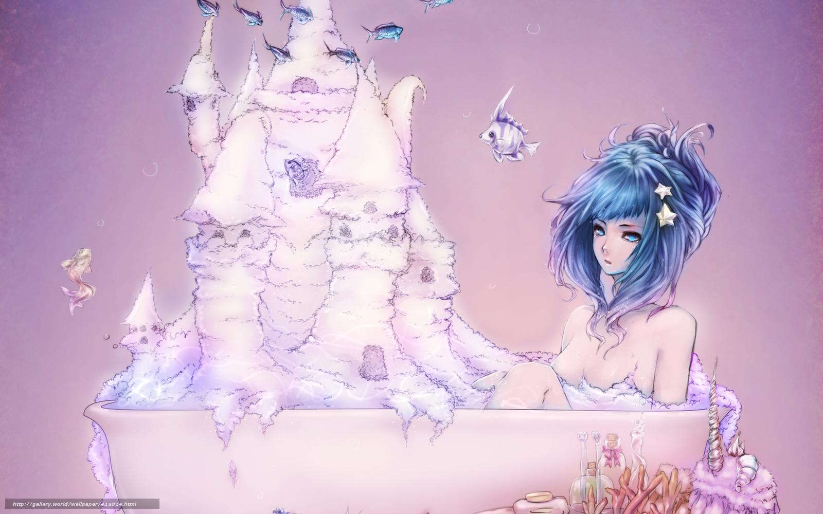 Фотоальбом девушки в ванной 26 фотография