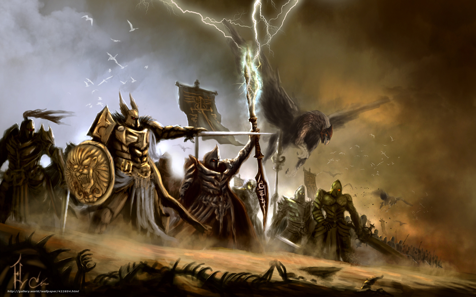 Рисунки фантастика воины 12 фотография
