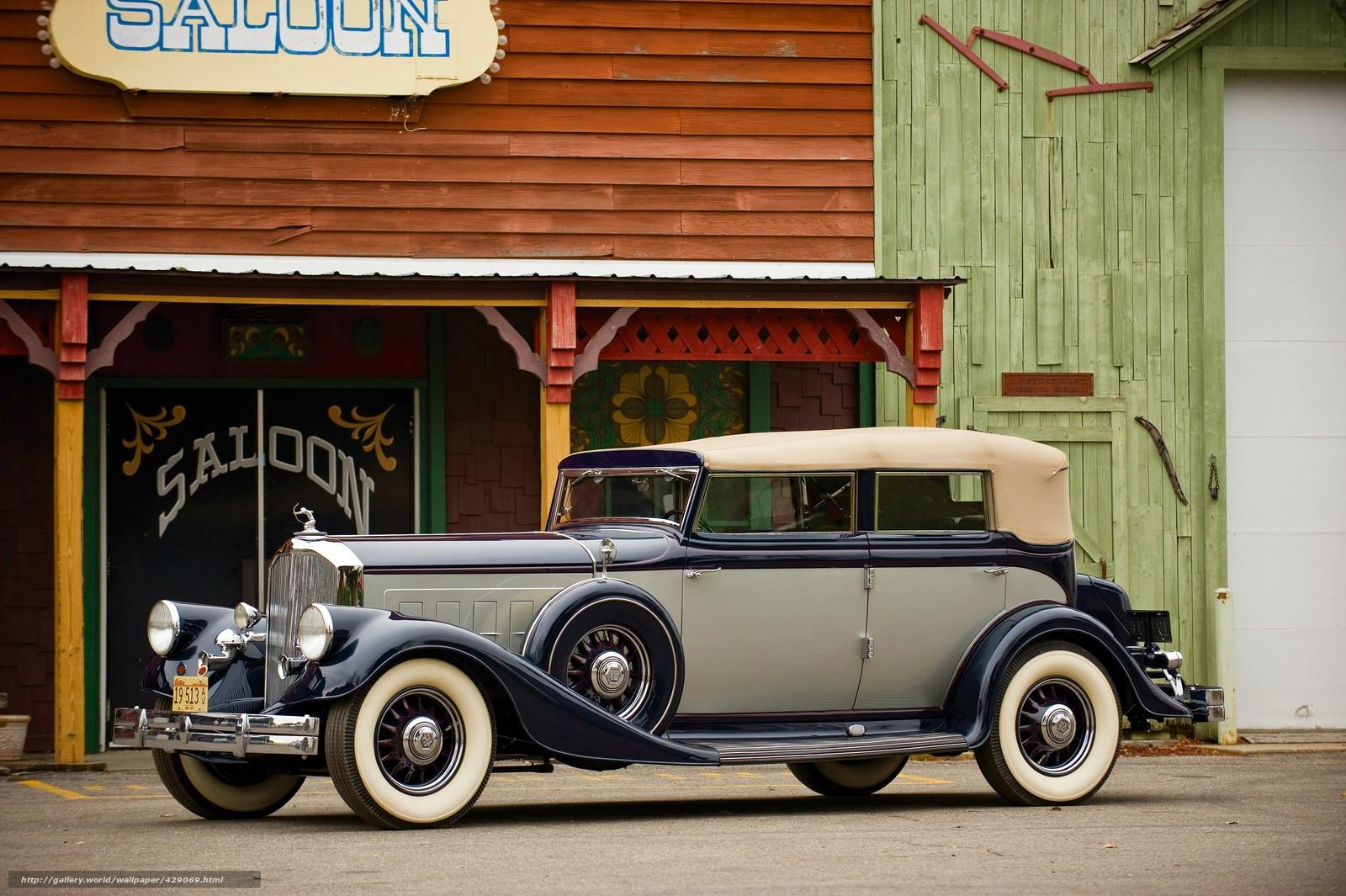 1933, pierce-arrow, twelve convertible sedan, cars, vintage, двенадцать Кабриолет Седан, автомобили, старинные