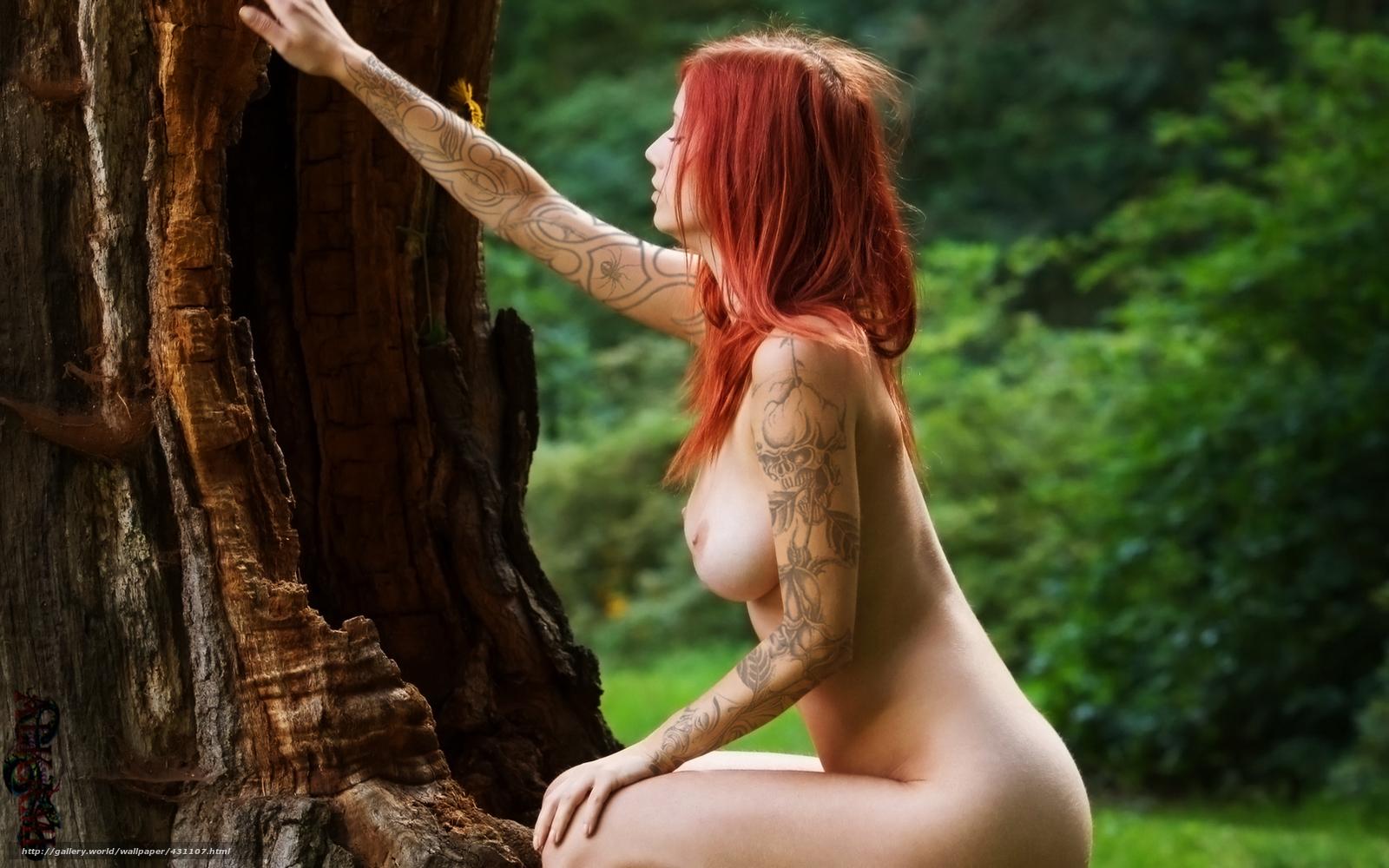 Тату девушки из голые и смешные 16 фотография