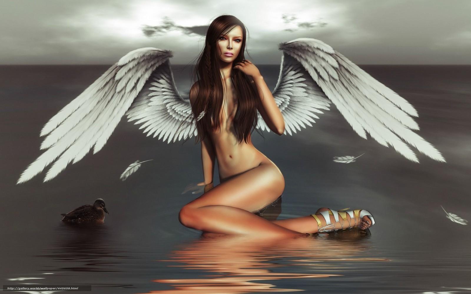 Ангелы нагие модели