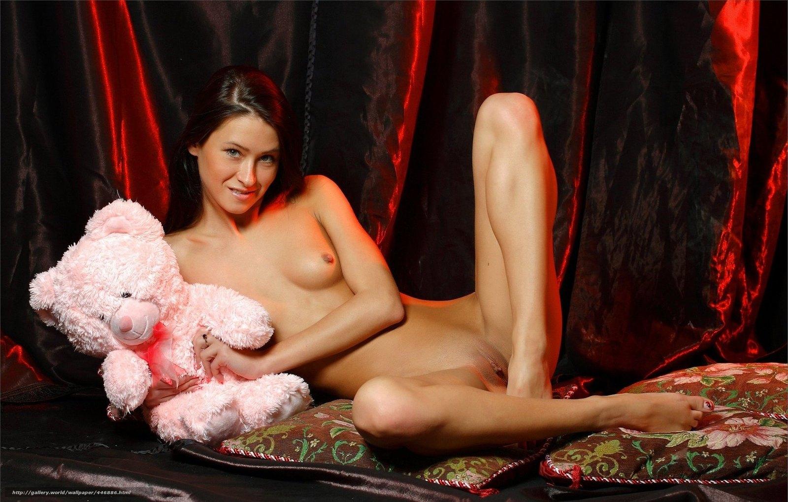 Эротические фото с плюшевым мишкой 25 фотография
