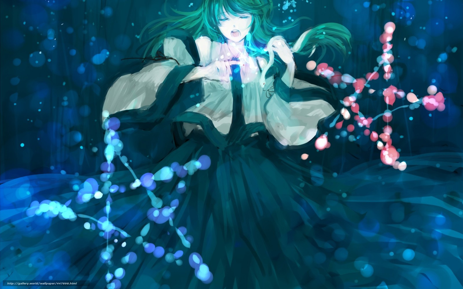 Картинки аниме магия - c553