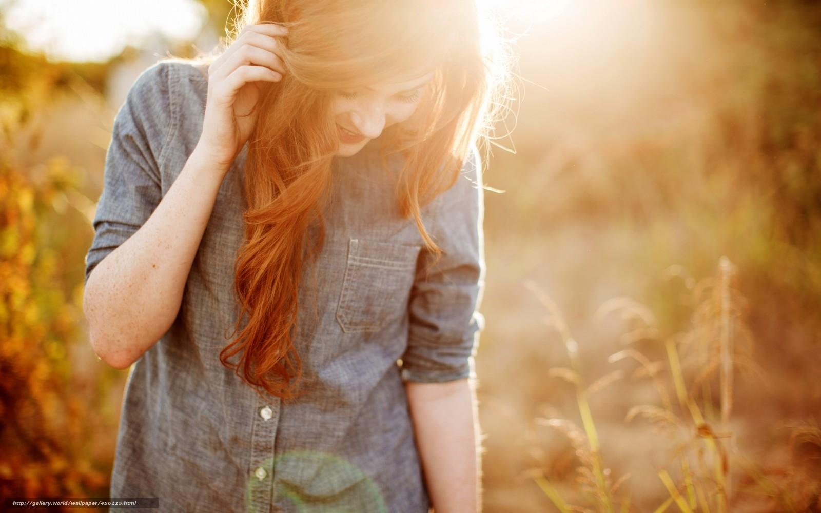 Фото девушек с рыжими волосами со спины 22 фотография
