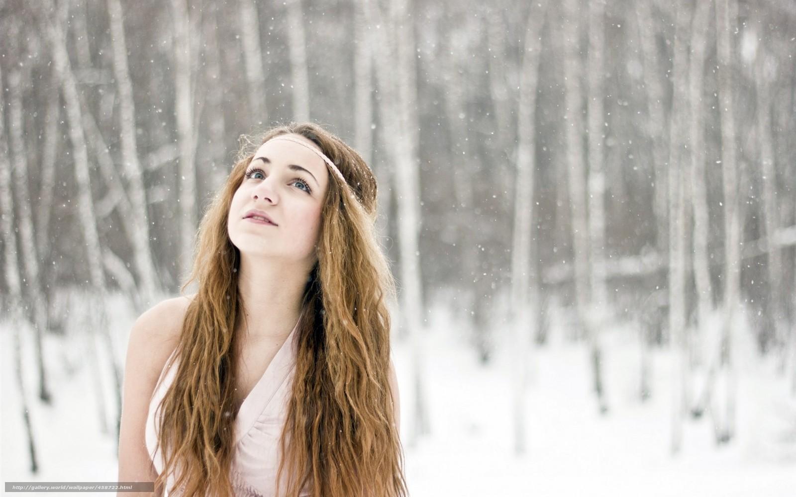 Фотографії блондинок і зима 25 фотография