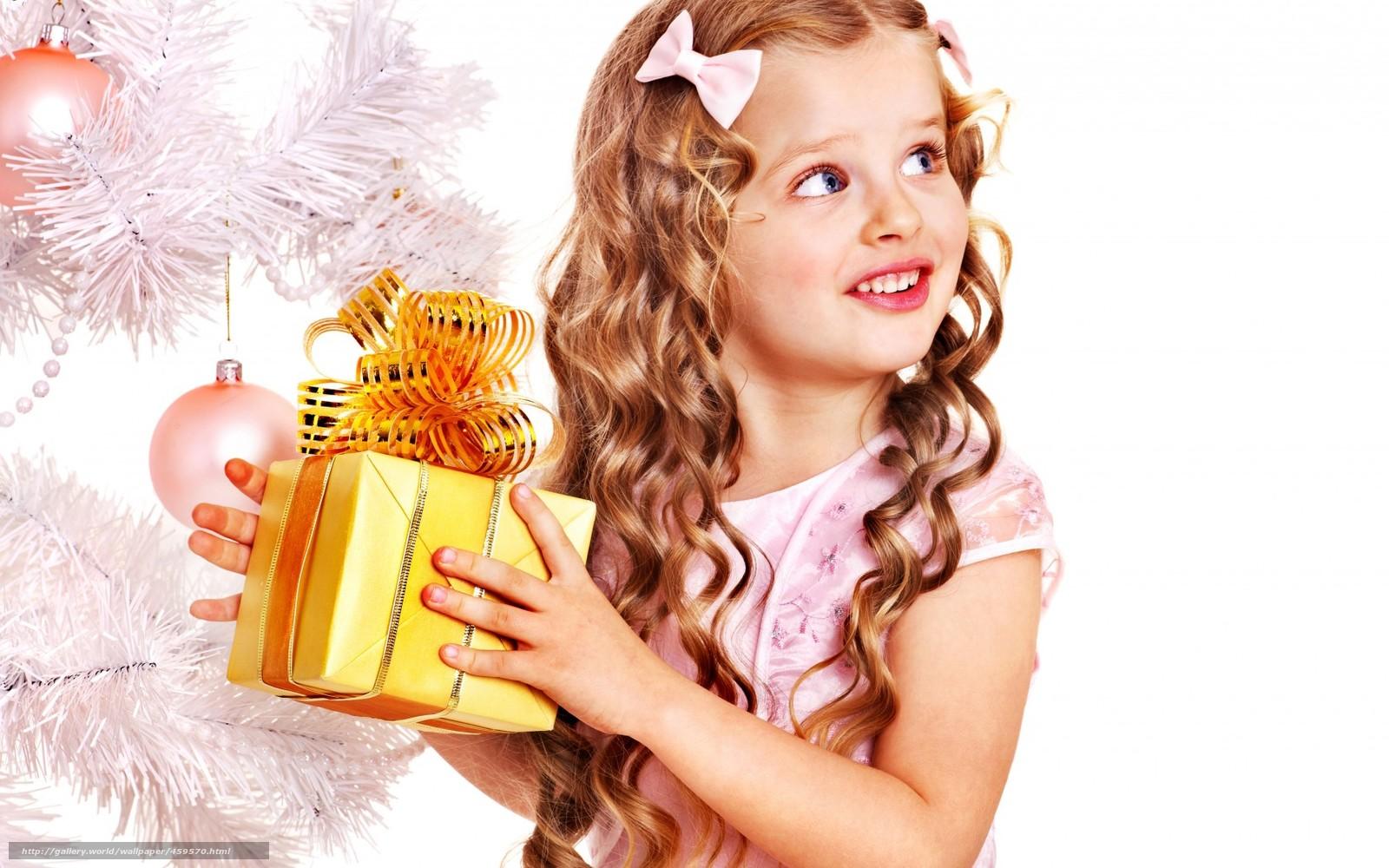 Картинки на новый год подарки для девочек