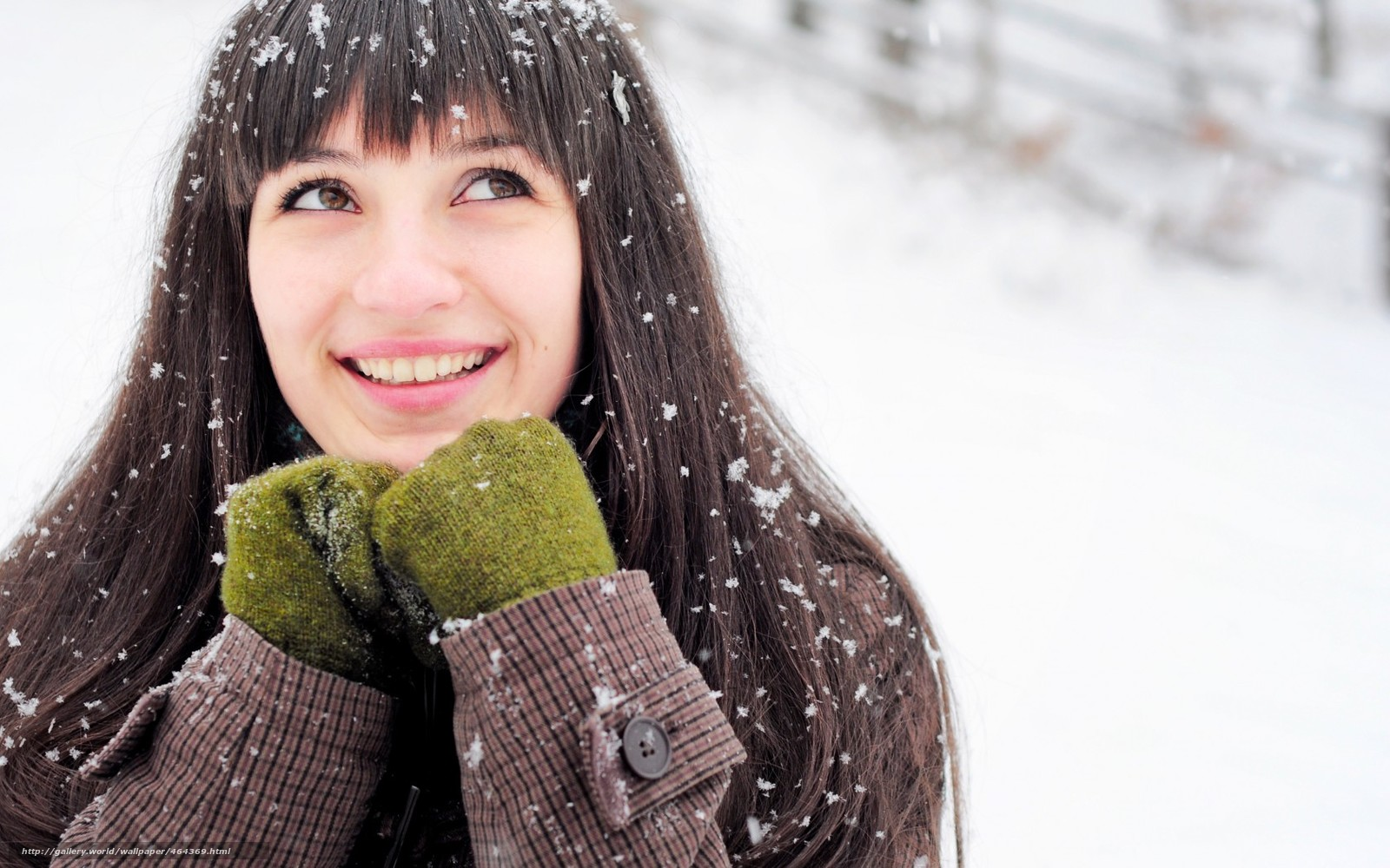Зимние фото девушек в одноклассниках