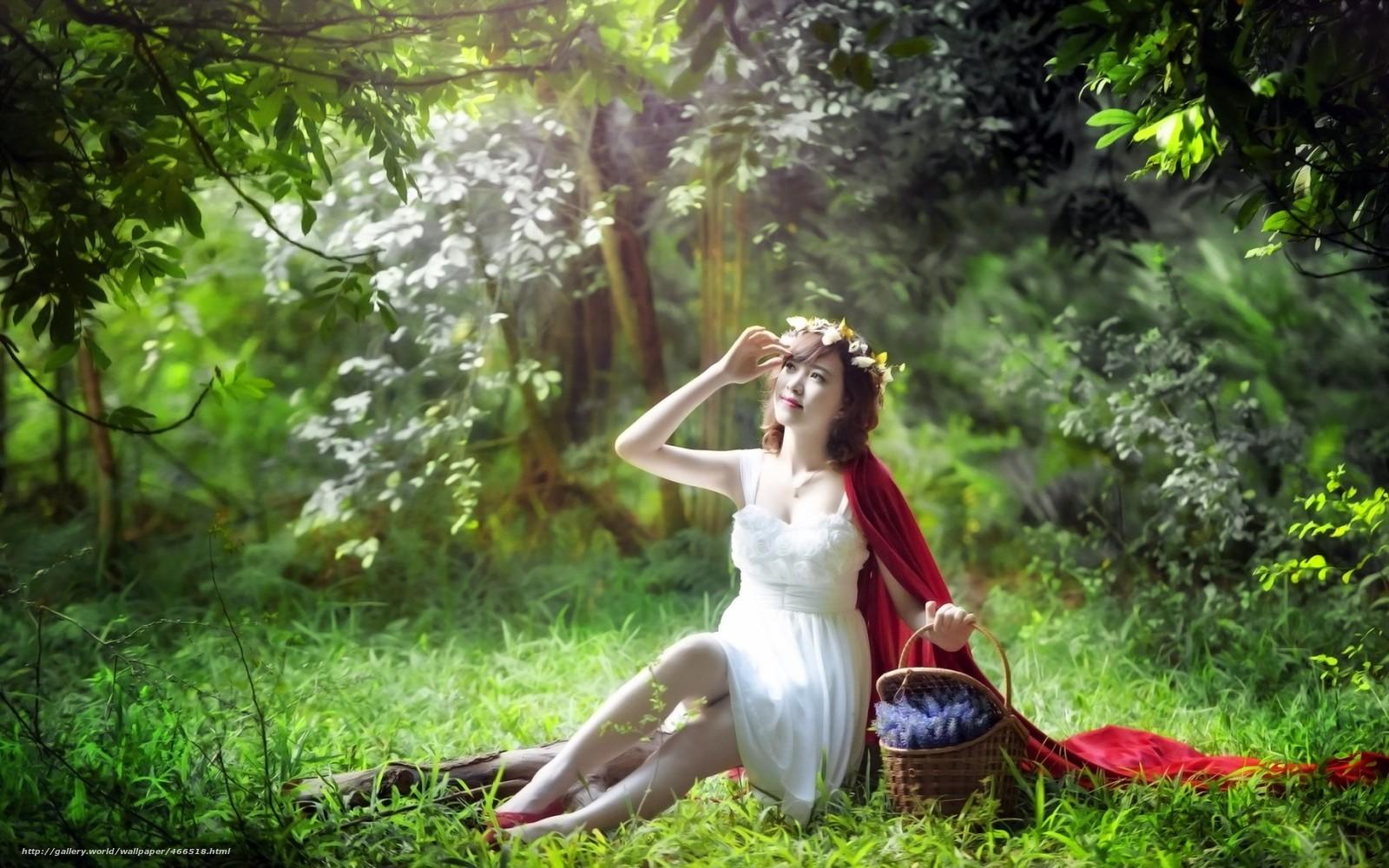 Секс девушки в сказочном лесу онлайн 7 фотография