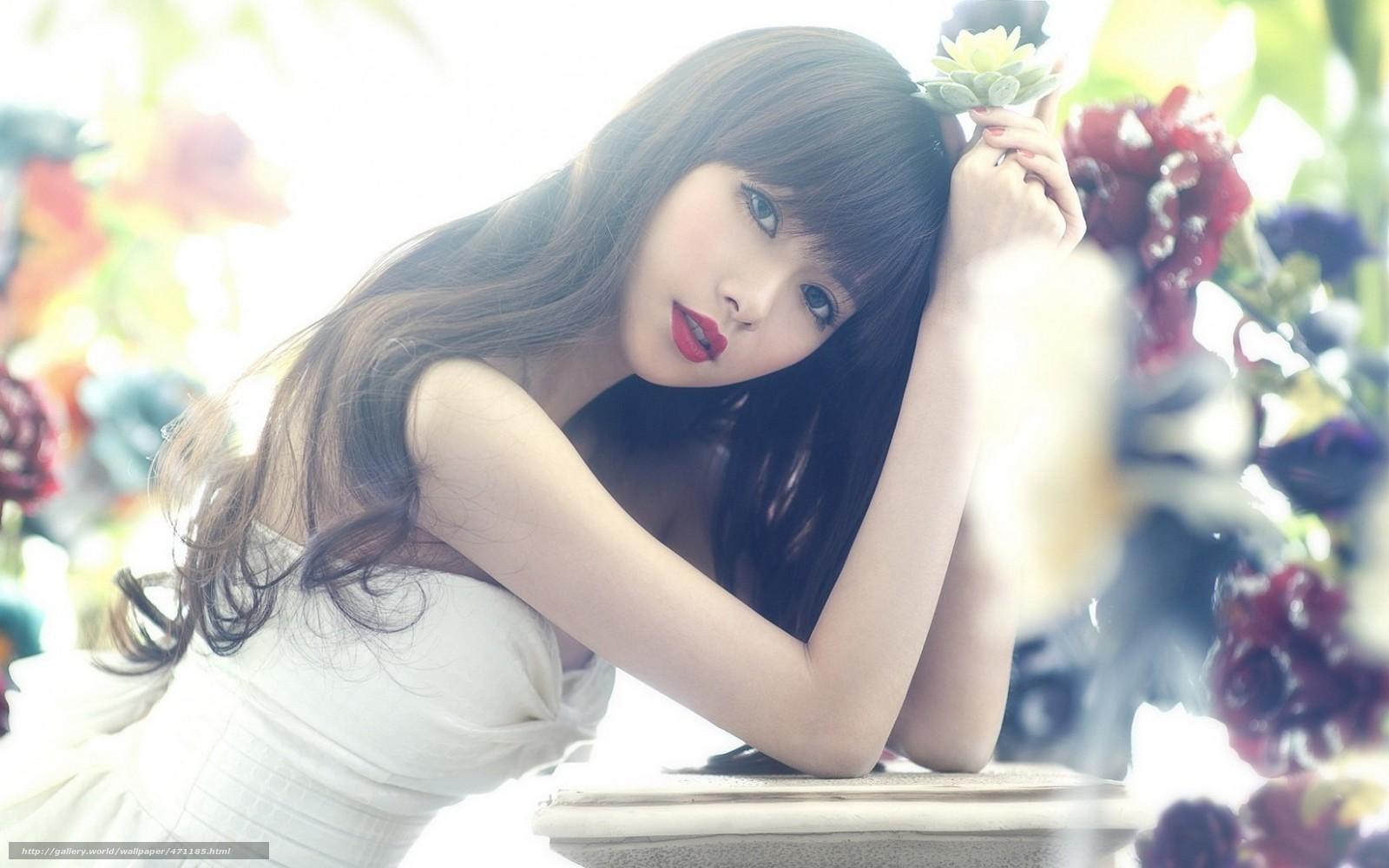 Фото девушки на аву азиатки