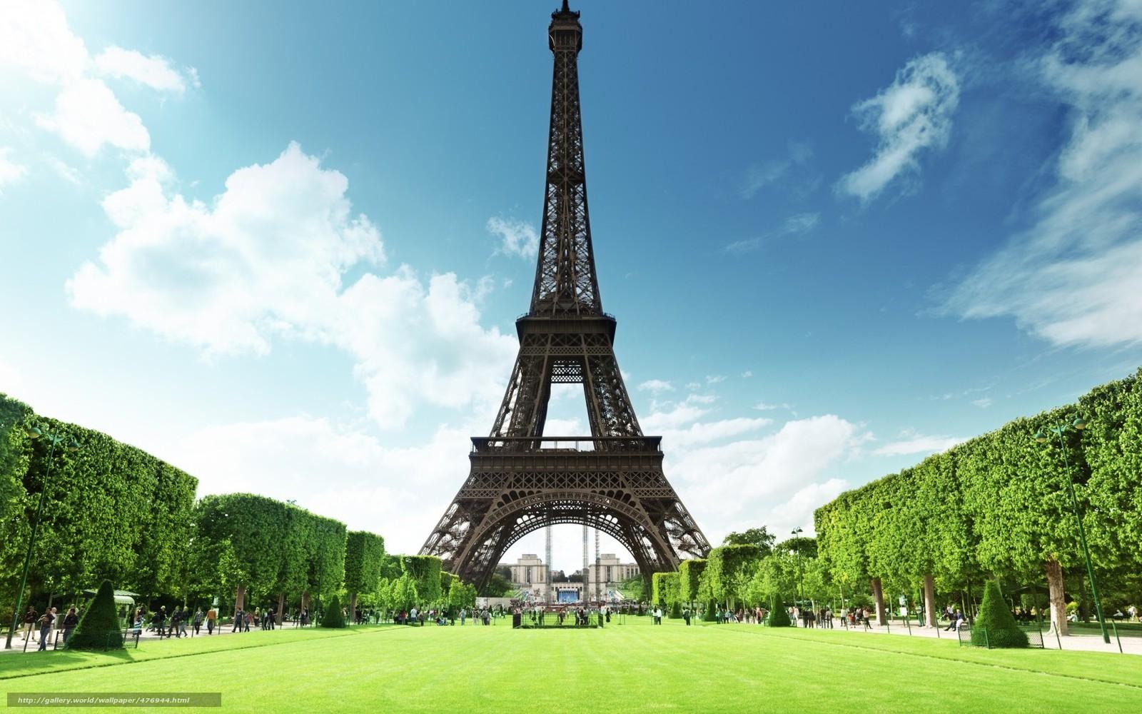 Картинки на рабочий стол лето в париже